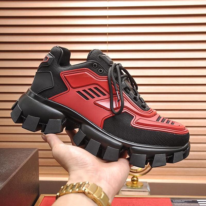 Casual Ayakkabı Erkek Platformu Footwears Üst Kalite Eğitmenler Cloudbust Thunder Örme Sneakers Erkek Ayakkabı Moda Footwears Scarpe Da Uomo Cf660
