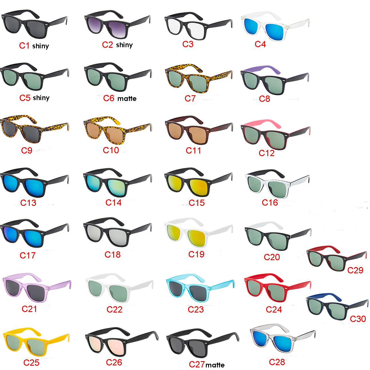 30 Colors Classic Women Men Sunglasses Outdoor Sport Driving Cycling Sunglasses Dazzle Color Sun Glasses Fast Shipping Best Selling
