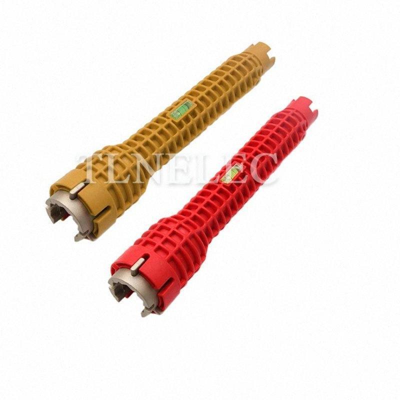 Красный и желтый Раковина ключ Винт Extractor Водонагреватель ключ кальян Разборка торцевым гаечным монтажника Инструменты oDmz #