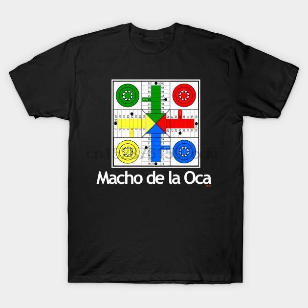 Uomini maglietta Macho de l'Oca gioco T shirt stampata T-shirt tee top