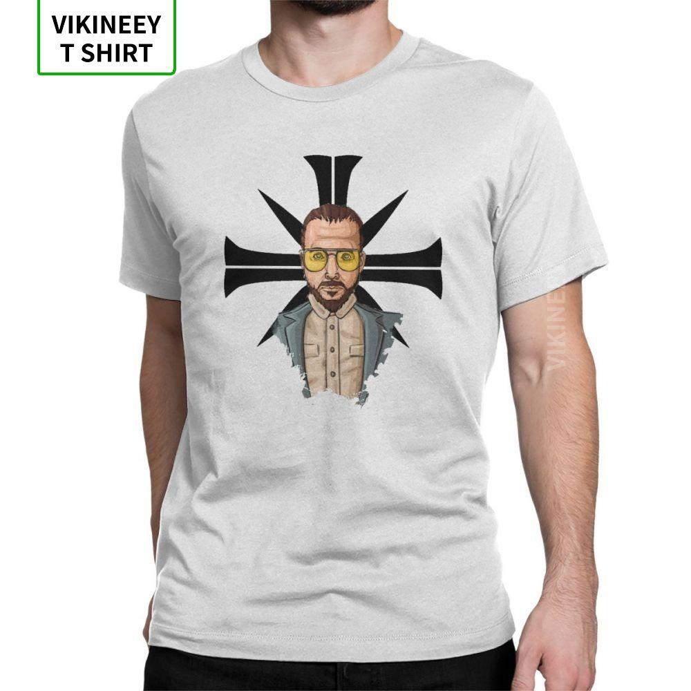 Men Joseph Cross Far Cry T Shirt Game John Seed Hope County T-Shirts Funny Crew Neck Short Sleeves Clothing Cotton Tee Shirt