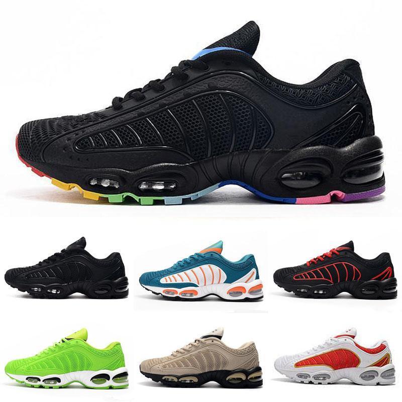 2019 zapatillas deportivas para hombre Blanco Amarillo Nuevo KPU Tailwind 4 Iv Negro Calzado deportivo Zapatos Desig Formadores verde zapatillas de deporte 40-47
