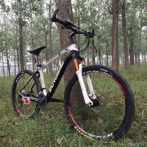 Authentic Carbon Fiber Bicycle Shimano 30-Speed M610 Oil Brake Mountain Bike DIY Assembly Bicycle One-Piece Hair