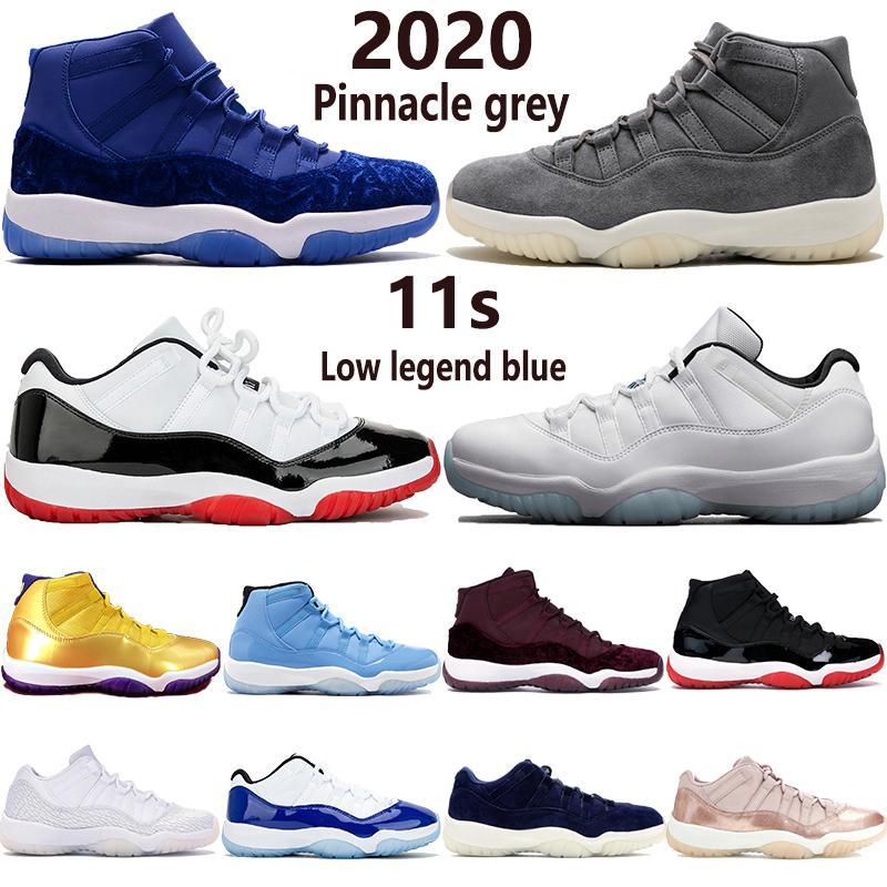 Air Jordan 11 Concord 45 XI 11s Chaussures de basket-ball pour hommes Platinum Tint Gym Rouge Win Like 96 Chaussures de designer pour hommes