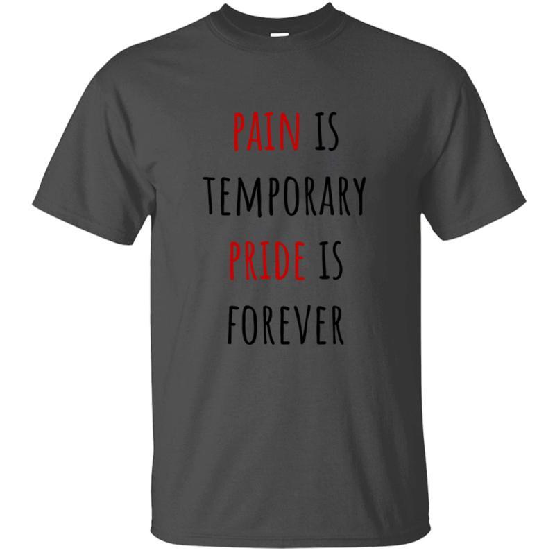 Печать Смешные Повседневной Pain Pride Футболка Люди хлопок Outfit Мужской досуг для взрослых Tshirts 2020 Завышение S-5xl Camisetas