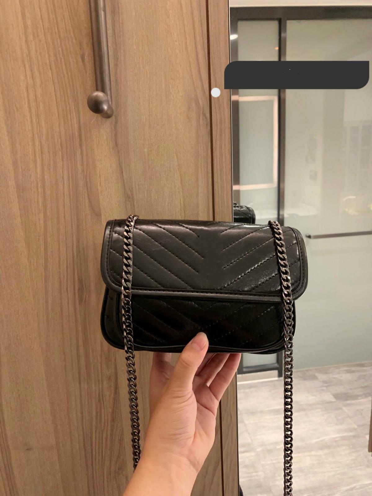 Сумочка кошелек женского дизайнера сумка 2020 новых женщины кошелька сумка кожа качества высокого 2 цвета