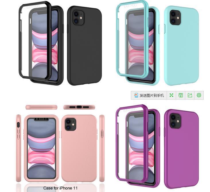 Для iPhone 12 11 Pro Max XS XR ТПУ Телефон Дело Ударопрочный Мягкая задняя крышка для Samsung S20
