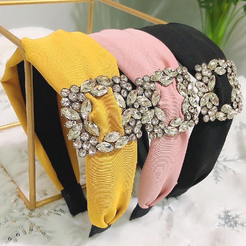 High Grade Personalidade Charme Mulheres Hairband 6 cores Acessórios cabelo lindo elegante Headband INS Festa Estilo Garotas Lady