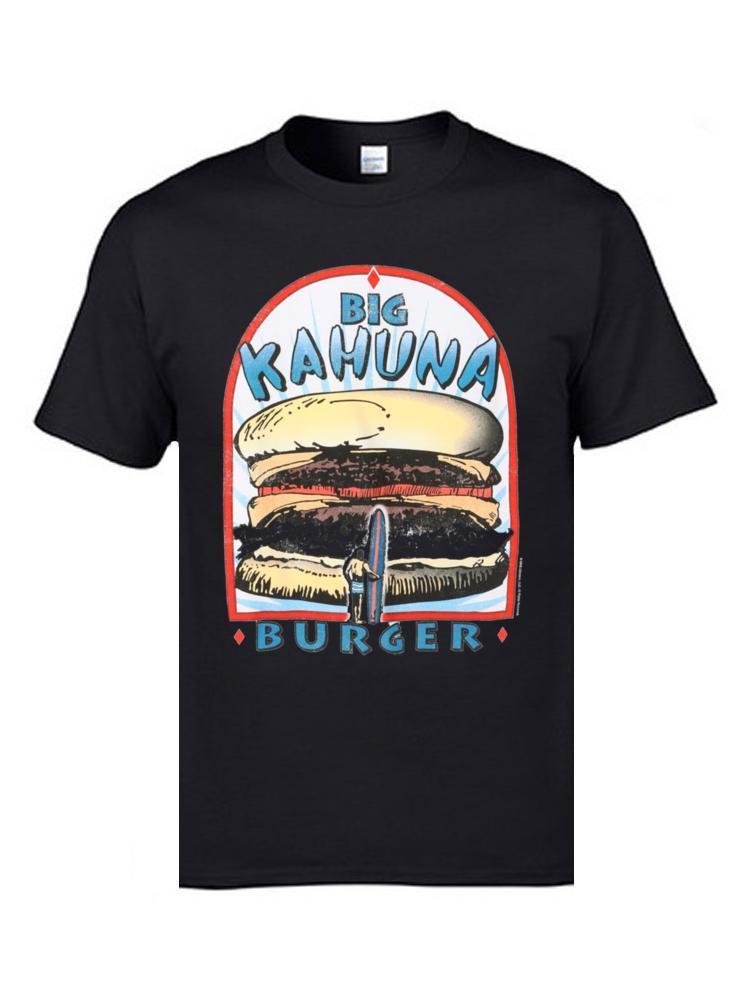 Big Kahuna Burger Hawaii Surfer Consiglio nero delle magliette superiore di modo della stampa 3D magliette oversize Plain lil Rap maglietta peep