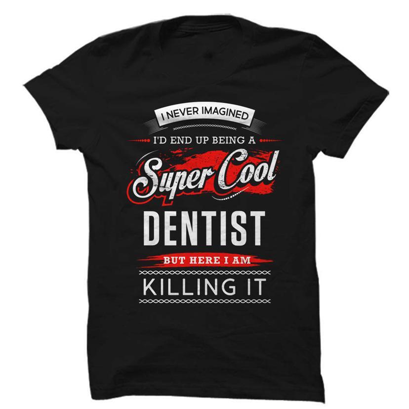Dişçi Gömlek, Dişçi Hediye, Diş Gömlek, Diş Hediye, ben asla Tee Gömlek Harajuku
