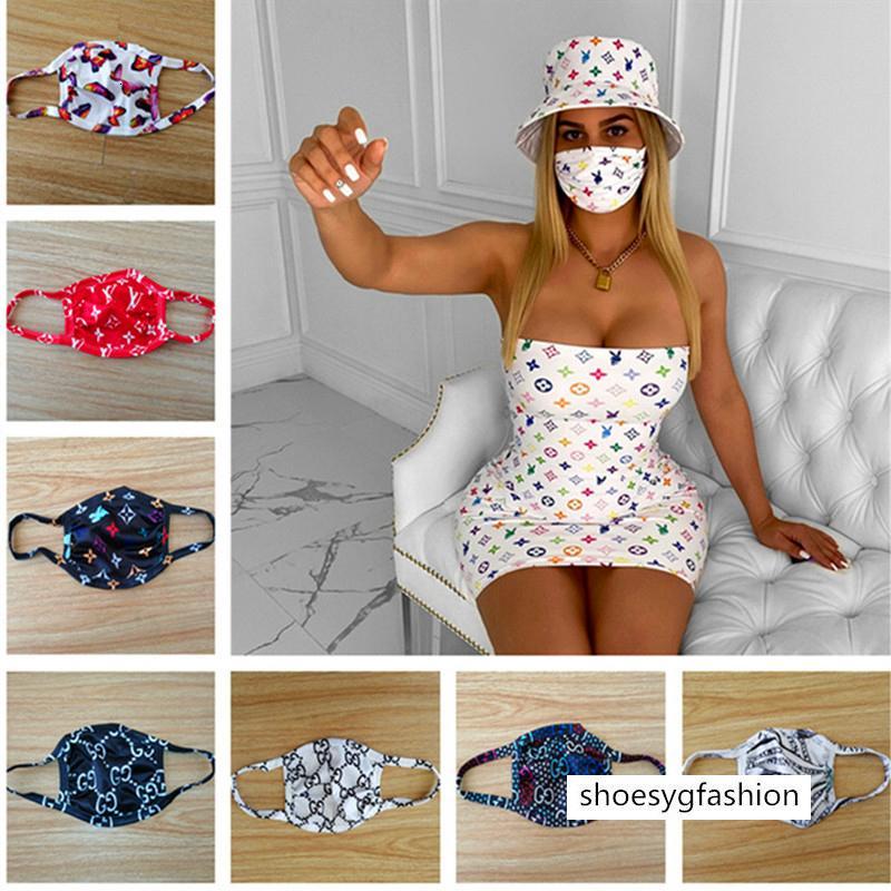 Lüks Tasarımcı Yüz Maske Anti Toz Ultraviyole dayanıklı Ağız-mufla Erkekler Kadınlar Yüz Maskeleri Moda Koruyucu Yıkanabilir Bisiklet Yüz Maskesi