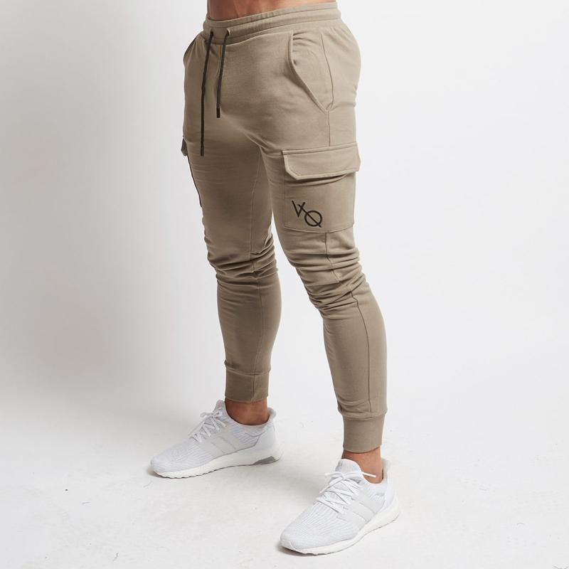 Hombres Joggers 2020 Marca masculino pantalones pantalones los hombres del deporte del basculador pantalón Running