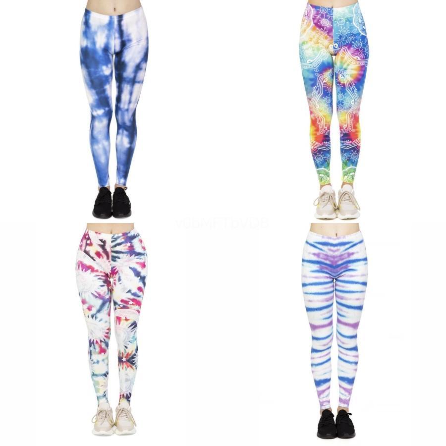 Eal Orange Women Sport Leggings Yoga Pants 3D Print Push Up Sexy Slimming Pant Fitness Clothing Running Tights Gym Sportswear C19042101#321