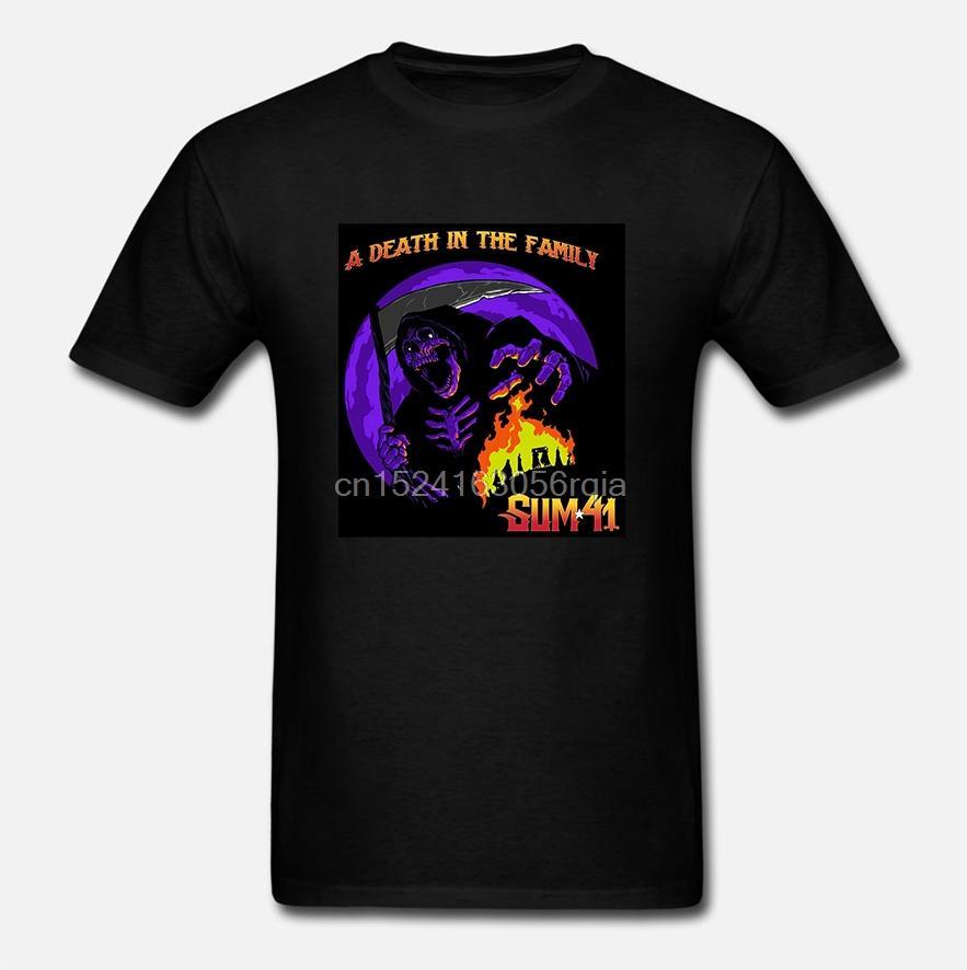 OLIVIA HARPER hommes drôles Sum41 T noir 100% coton T-shirts Tee top Homme