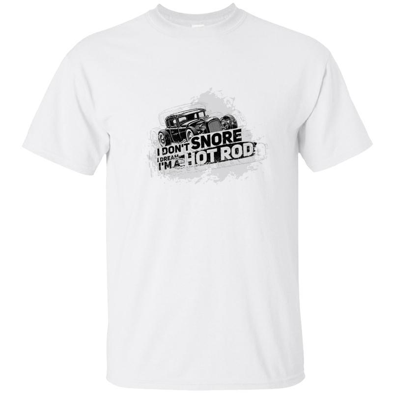 Engraçado Rod presente quente: Eu sou um Hot Rod T-shirt dos homens T Shirt For Men camiseta roupa do verão Homme Plus Size 3xl 4xl 5XL Hip Hop
