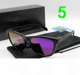 2018 Marca sunglasse New Top Versão Sunglasses TR90 Quadro lente polarizada UV400 frogskin Sports Sun Óculos Fashion Trend Óculos Eyewear