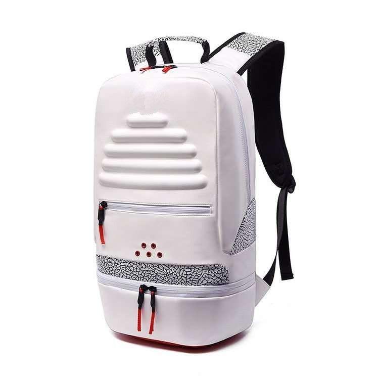 mochila homem e mulher pu moda cimento rachadura basquete mochila ao ar livre lazer splice escalada turismo estudante escola saco novo s