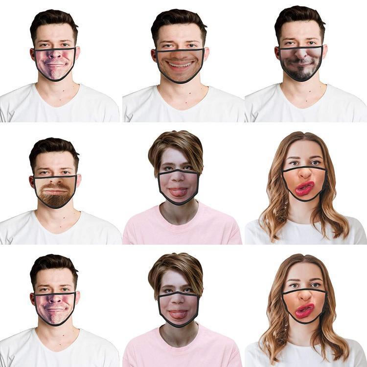 Cheap bambini 3D Luogo Facemask Stampato divertenti per Halloween della maschera di protezione migliore cotone Buy divertente maschere Facemask costumi Cosplay Occasione cfial