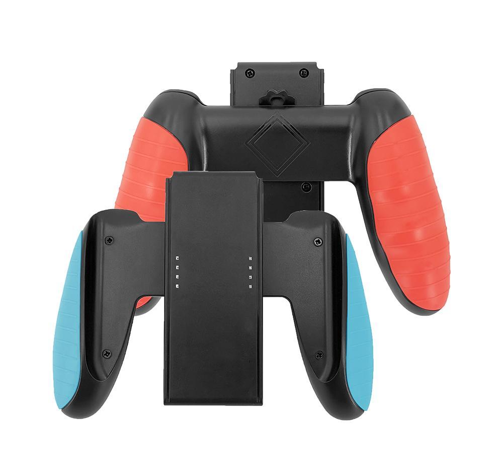 Confort Grip Poignée Support Support Support pour NS Commutateur JoyCon poignée en plastique Porte-support