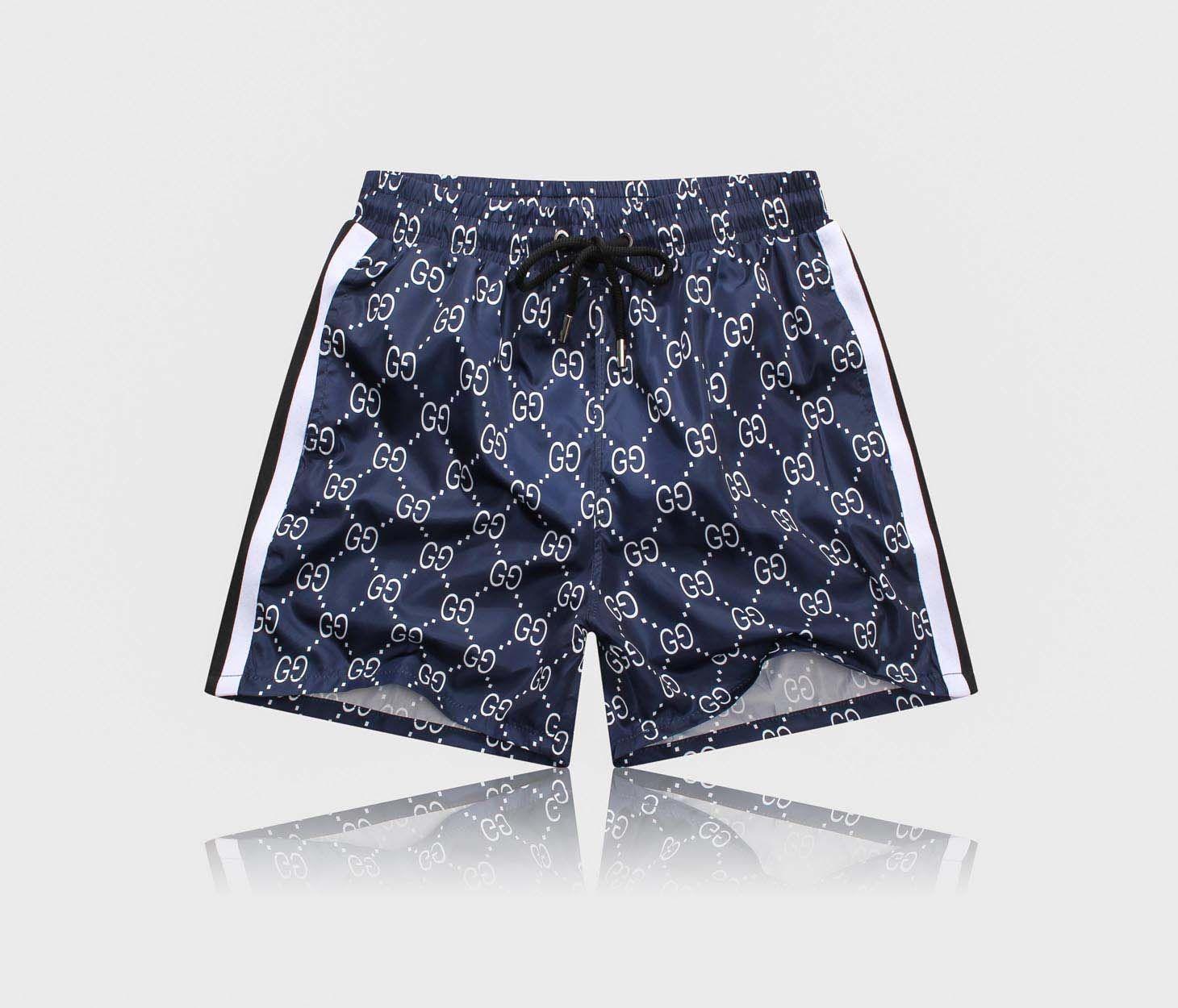 2019Fashion Designer D2 Shorts Mens casuali della spiaggia bicchierini di marca Pantaloni corti Uomo Intimo bicchierini del bordo di lusso del Mens di usura di estate