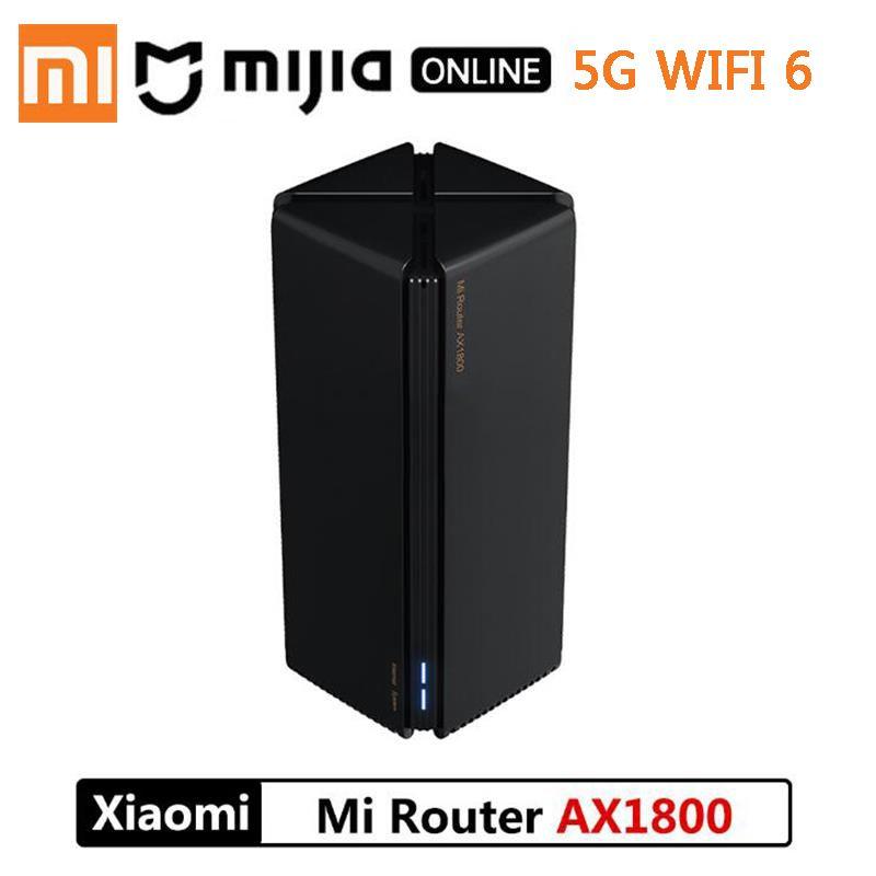 Xiaomi Маршрутизатор AX1800 Qualcomm Five-Core WiFi6 2,4G 5,0 ГГц Полный Гигабит 5G Двухчастотная Домашняя Настенная Настенная Король CN Версия