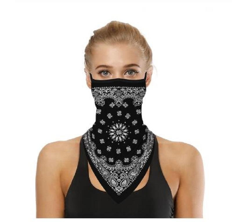 Outdoor Face Cover Cycling Mask Fashion Printed Bib Scarves Multi Functional Seamless Quick Dry Hairband Head Scarf Bandana