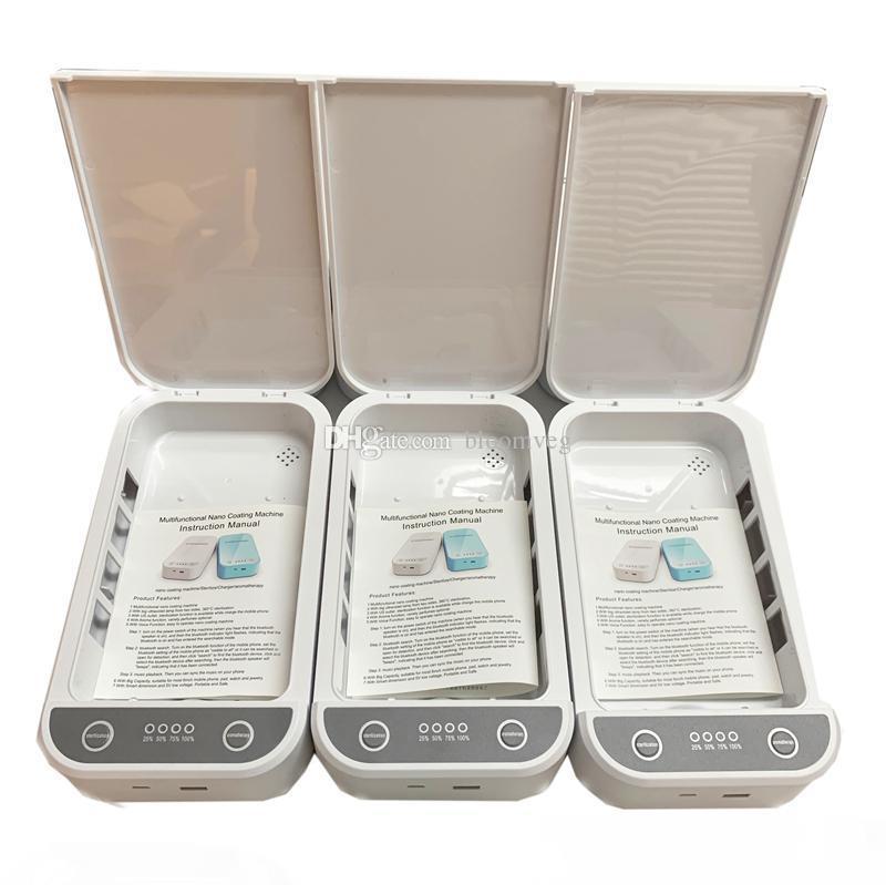 caja de la desinfección UVC USB portátil de viaje para el cuidado personal de esterilización del esterilizador ultravioleta de la lámpara de cátodo photocooled UV lámpara con caja al por menor