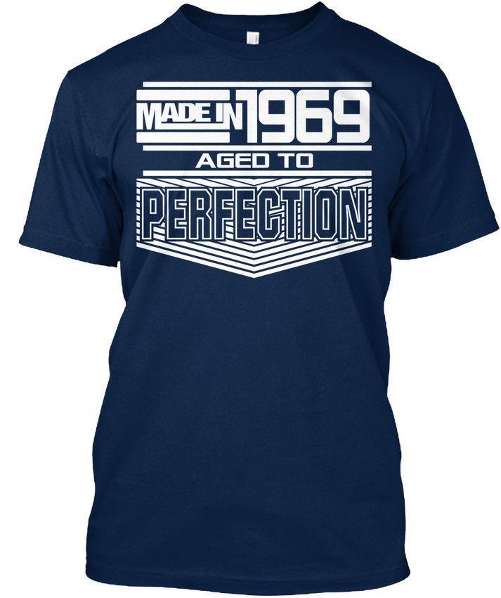 Hecho en 1969 Regalo divertido de la camiseta de 2020 elegantes más nuevos hombres divertidos Streetwear Tees Camisetas