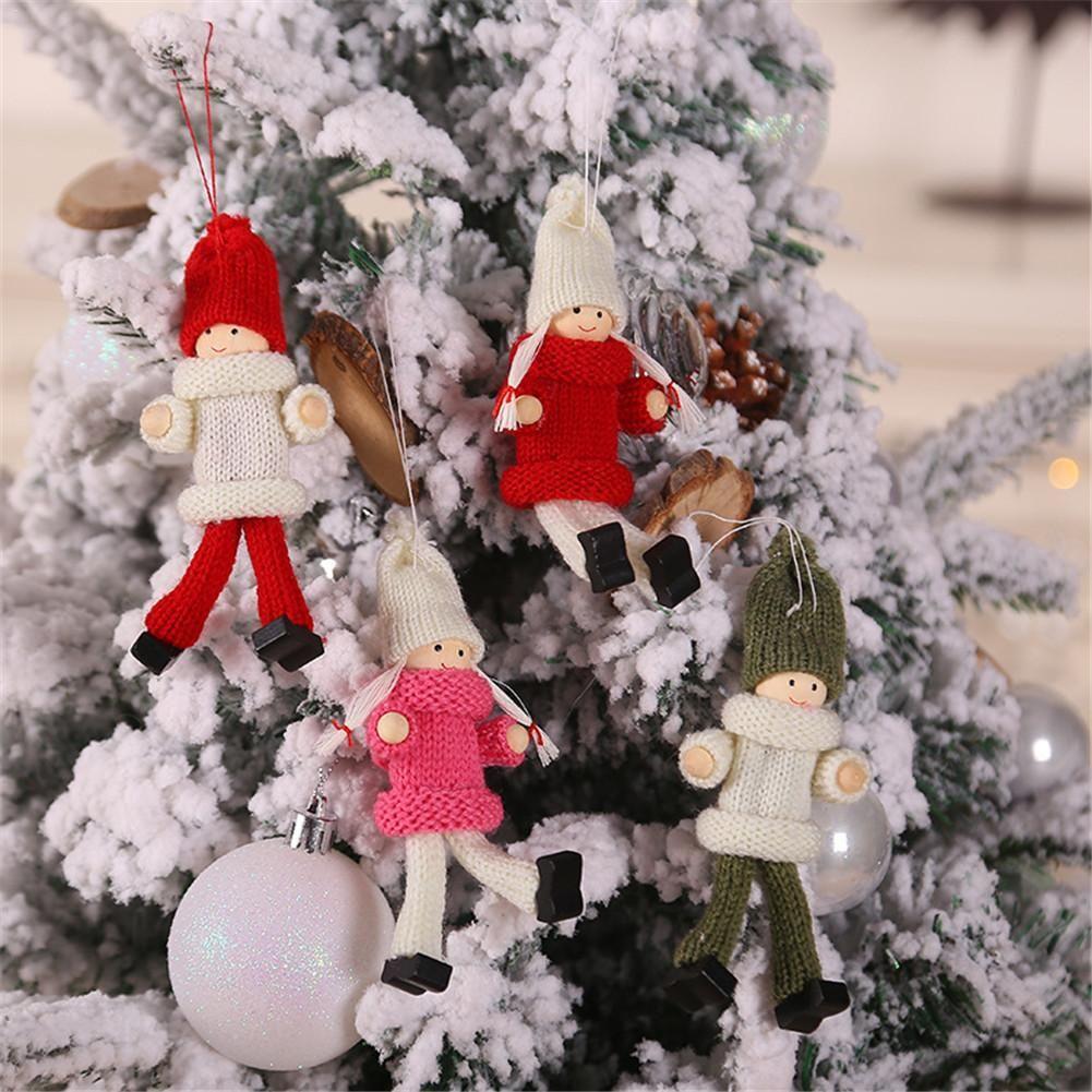Decorações do Natal inovadoras Camisolas Dolls Pingente ornamento Festival Festivo Dolls