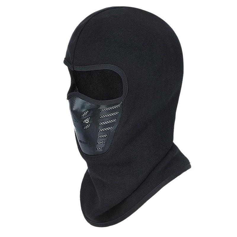 Маска для лица Открытый Зимний Теплый велосипед Скалолазание Катание на лыжах ветрозащитный Угольный фильтр термальной ватки Балаклава Head Protector