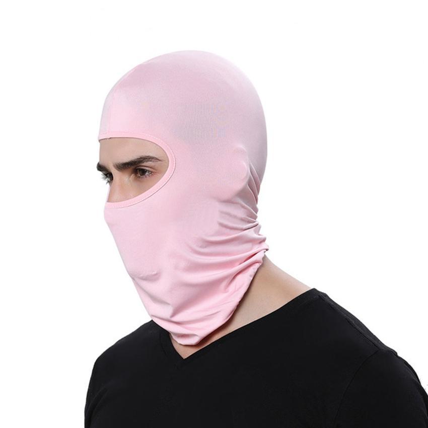 Extérieur Balaclava PARFAITEMENT visage cou écharpe Turban Hat Casquettes moto coupe-vent protection solaire cyclisme masque facial ZZA2468