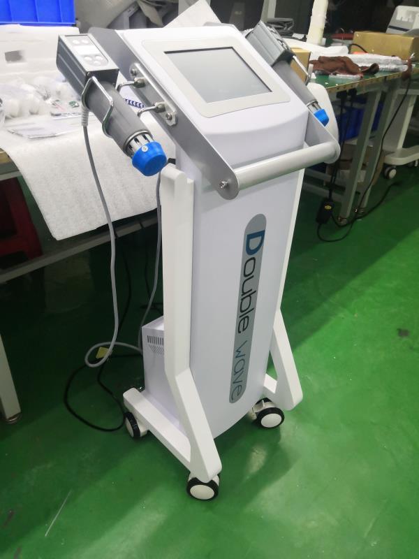 Física Duplo Shockwave alças ED Terapia Shockwave para a disfunção eréctil / Shockwave Máquina Dor Rápido peso relie reduzir