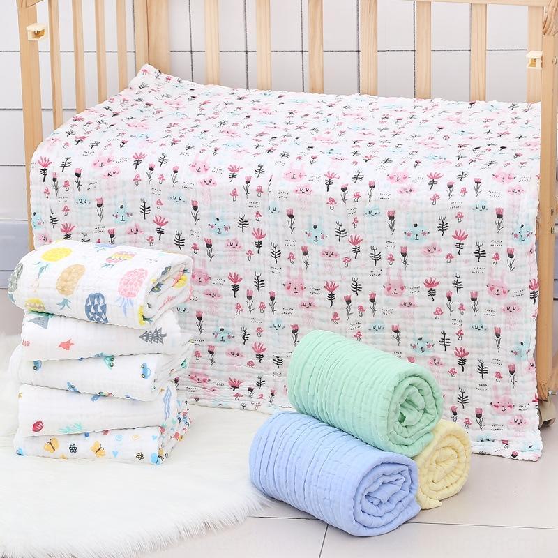 Babytuch mit sechs Schichten Blase Garn Kindersteppdecke weichen Badetuch Bad towelabsorbent reine Baumwolle Klasse A newborn baby blanket