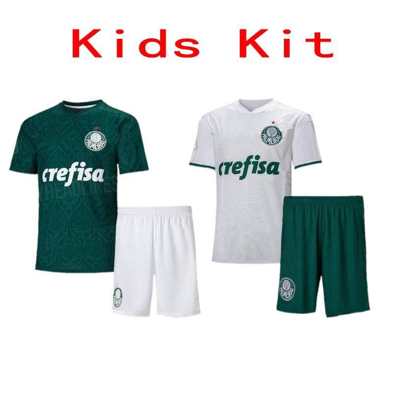 2020/21 بالميراس الاطفال كيت # بنين قميص 7 دودو RAFAEL الطفل لكرة القدم رقم 10 L.ADRIANO يليان فيليبي ميلو لكرة القدم الزي الرسمي
