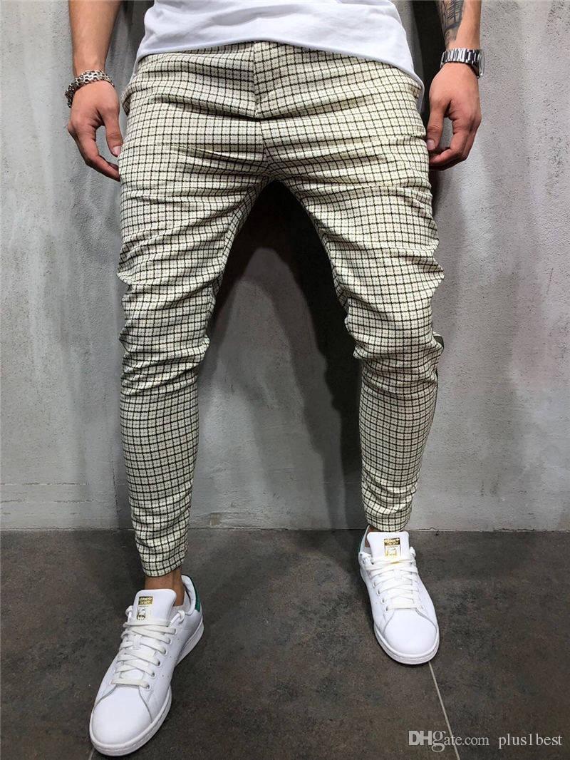 Erkek Sweatpants Spor Spor Pantolon İlkbahar Sonbahar Moda Erkek pantolonlar Muscle Kardeş Parça Pantolon Koşu