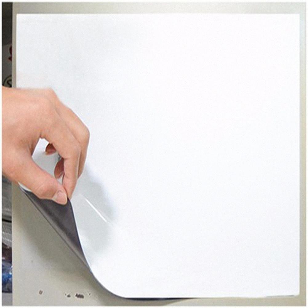 210 * 148mm Esnek dolabı Mıknatıslar Beyaz Tahta Su geçirmez Çocuklar Çizim Mesaj Panosu Manyetik Buzdolabı Memo Pad r20 tuKX #