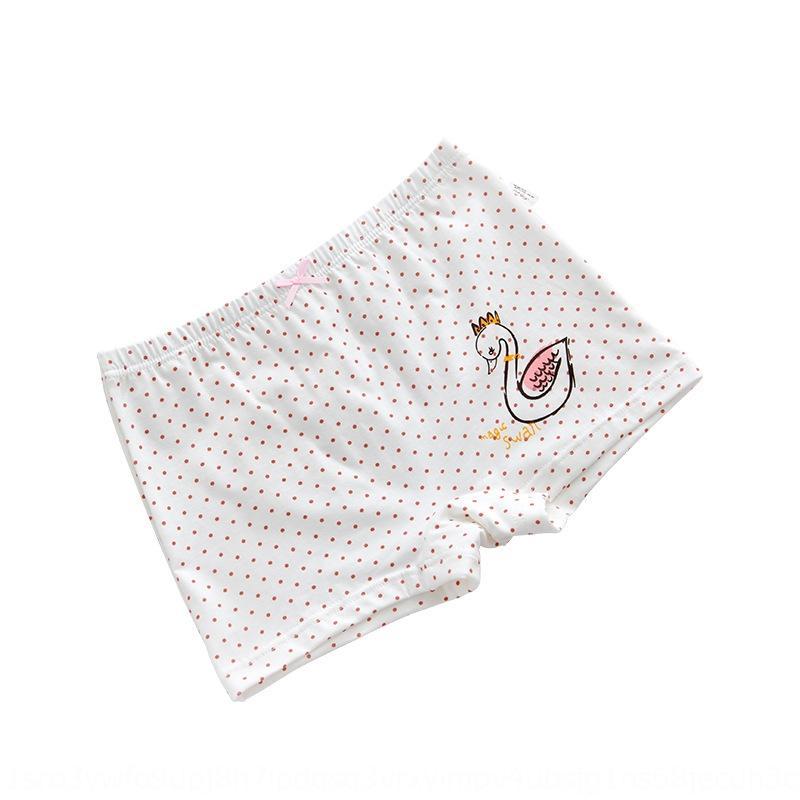 pugile del cotone puro colore della caramella biancheria intima del fumetto per bambini autunno caramelle quadrilatero biancheria intima della ragazza