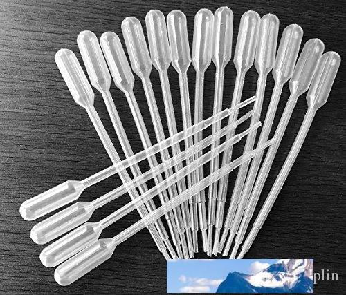 1ml를 2ml를 일회용 플라스틱 전송 피펫 눈 Dropper- 에센셜 오일을 졸업 피펫 스포이드 메이크업 도구