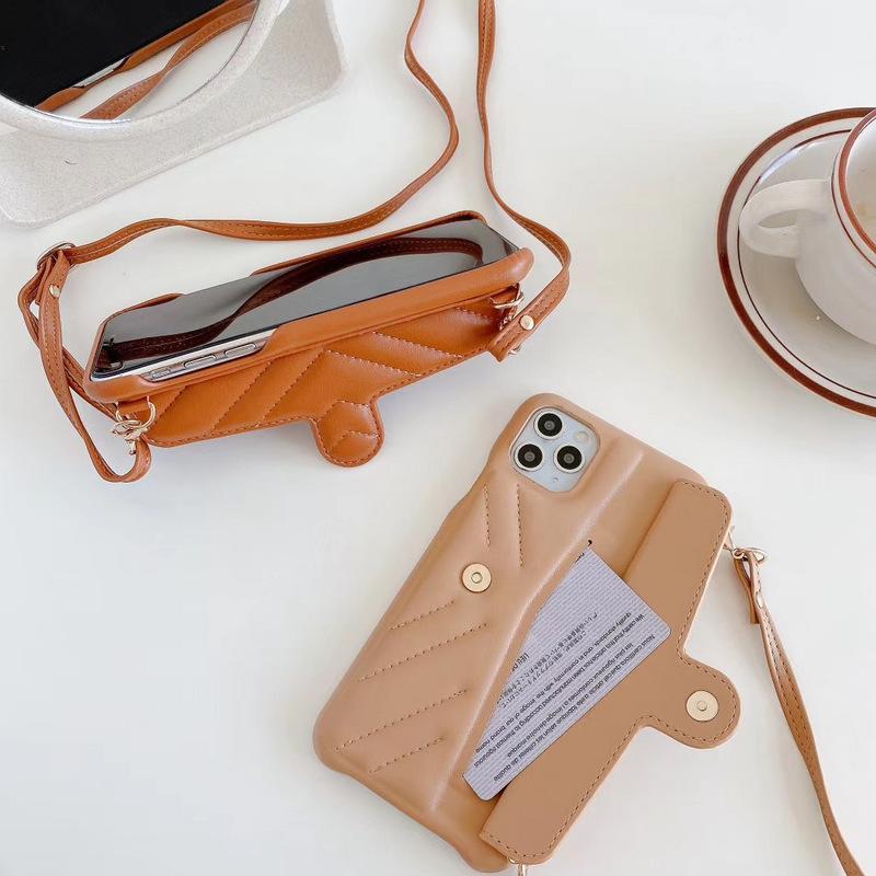 معكرون 10 الألوان حالة مصمم الهاتف لآيفون 11 مع بطاقة جيب حمالة السيف دعم الغطاء الخلفي للآيفون XR XS MAX 7 8PLUS