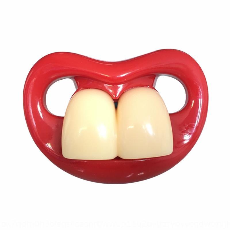yLj1s Red dudak bebek nipplenipple meme çocuk Kırmızı dudak bebek komik Silikon nipplenipple nipplefunny emzik çocuk silikon emzik