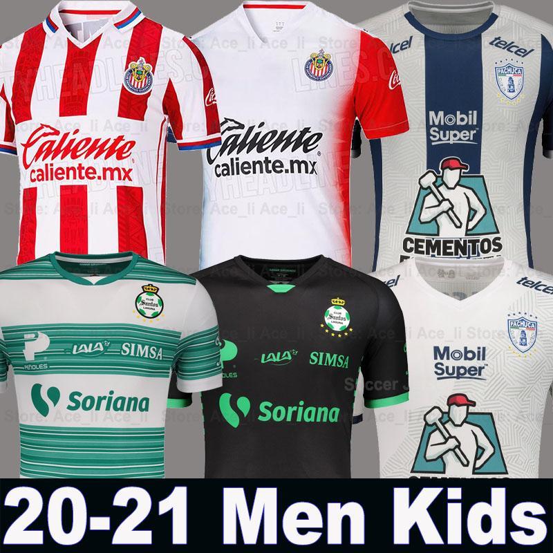 maillots de foot Chivas PULIDO Club America 20 21 Liga MX PACHUCA football shirts 2020 2021 Cuervos PACHUCA Xolos de Tijuana Tigres soccer jersey Camisetas de fútbol