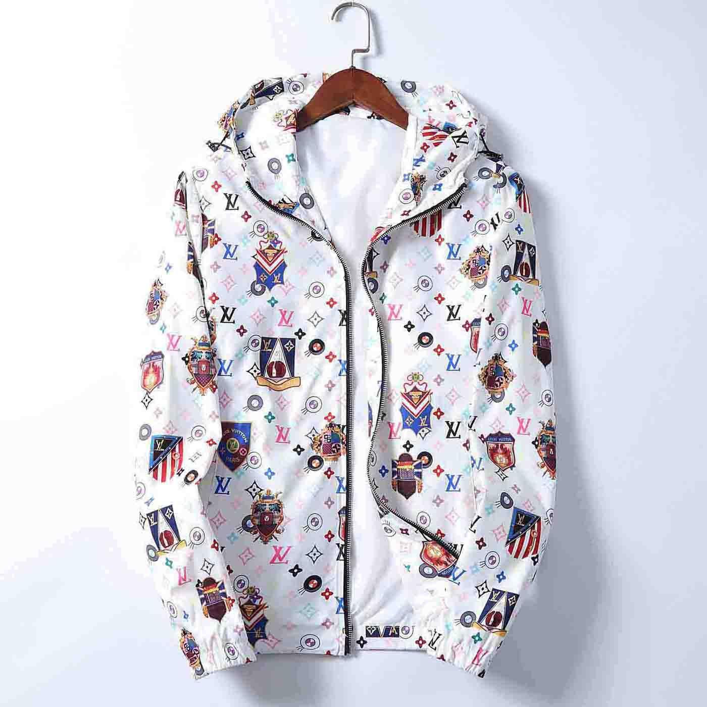 2020 Männer Trendy Marke heißen Verkaufs-Männer Jacken Medusa Jacken Mode Persönlichkeit beiläufige lose Sport Schlanke Designer gedruckt