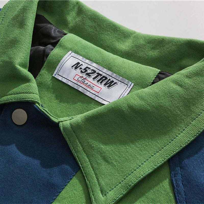 eRlCs 1dR0U percorso stile JacketClothing jacketancient cardigan sciolto giacca casual abbigliamento artistico ragazzi tutto-fiammifero di corrispondenza dei colori multi-tasca un