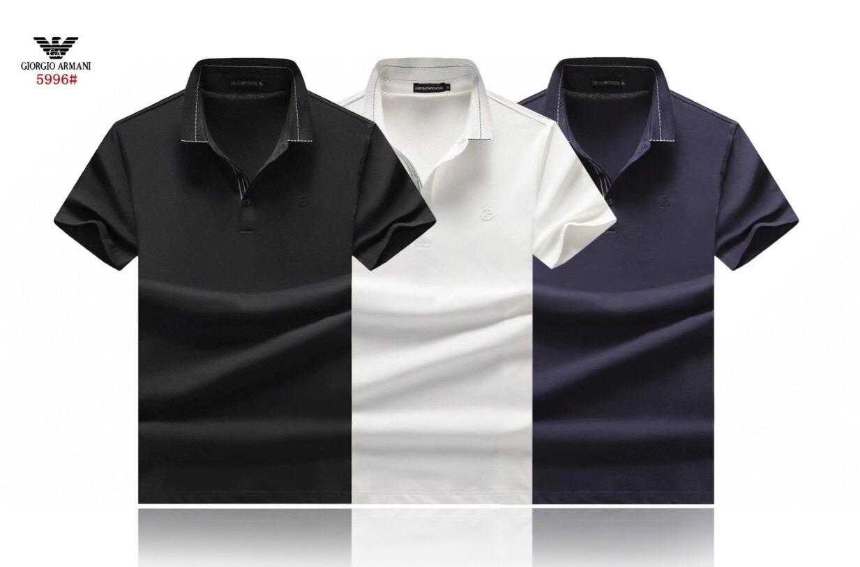 Hot AMN Classic Eagle Men 'Polo T Shirt #003 Milan Fashion New Jersey Real Madrid Summer Short sleeve Male Tees Manchester Inter Medusa