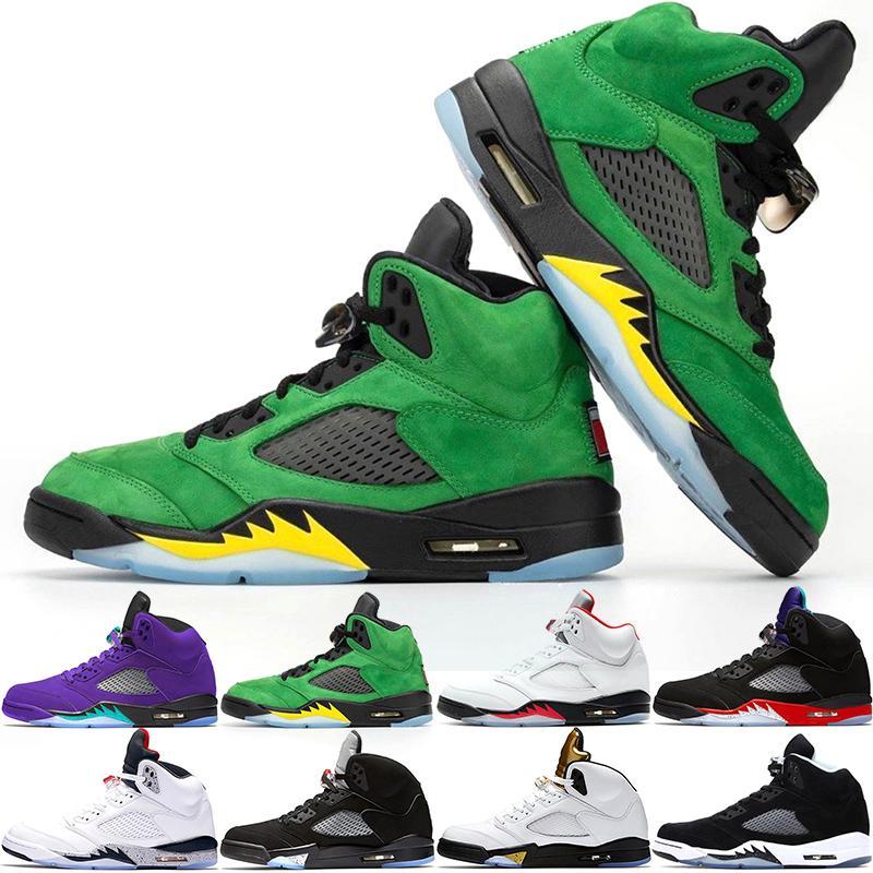 Jumpman 5s Men Basketball Shoes 5 Mens