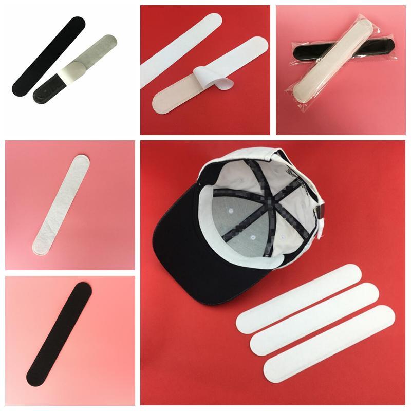 Cappelli Parasudore cappello di golf Sudore Liner Cap Protezione assorbimento dell'umidità evitare antiestetici autoadesivo Cappello Parasudore Dimensioni Sticker YYA176