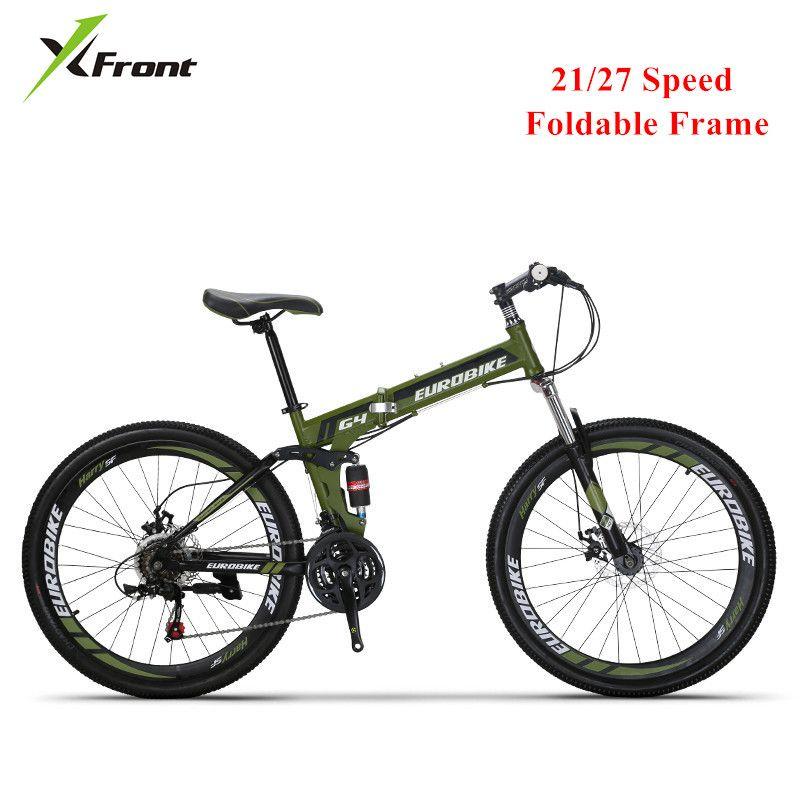 Nuovo Mountain Bike in acciaio al carbonio pieghevole frame Soft-Tail 26 pollici ruota a disco bicicletta freno 21 27 Sport Velocità Bicicleta