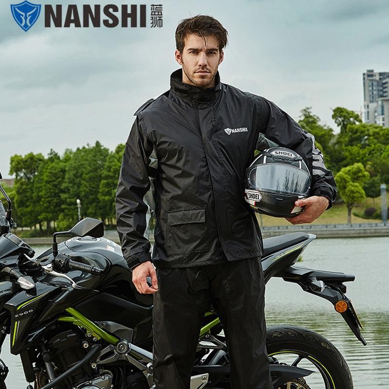 8RWdd Adult Split Anzug Reiten Wo Outdoor Angeln Erwachsene Split und Motorrad Regenmantel Anzug Reitregenmantel Männer und Outdoor-Fischen Frauen