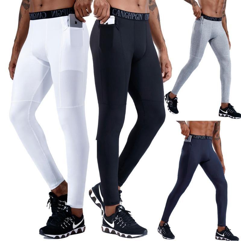 Pantalons Jogger Track Pro Pants Pocket Fitness Training pour hommes Vêtements de sport Survêtement Skinny Sweatpants Pantalon noir Salles de sport de