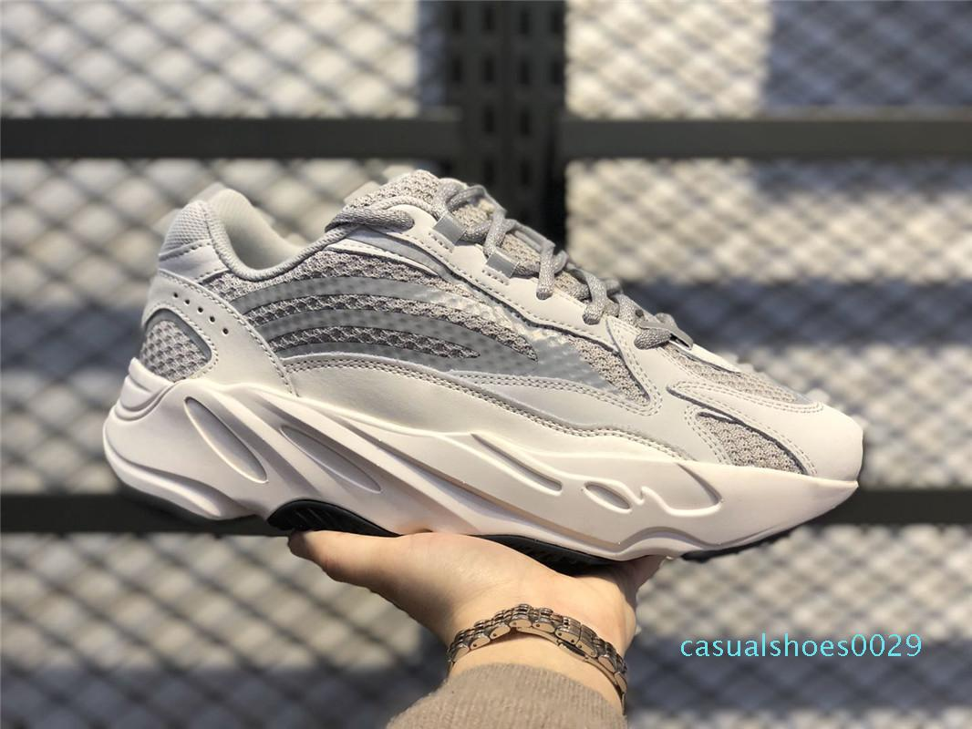 sKanye Batı 700 Dalga Runner Atalet Tuz Womens 700s V2 Geode Statik Spor leylak Katı Gri Tasarımcılar Sneakers 36-46 C29 Koşu Ayakkabıları